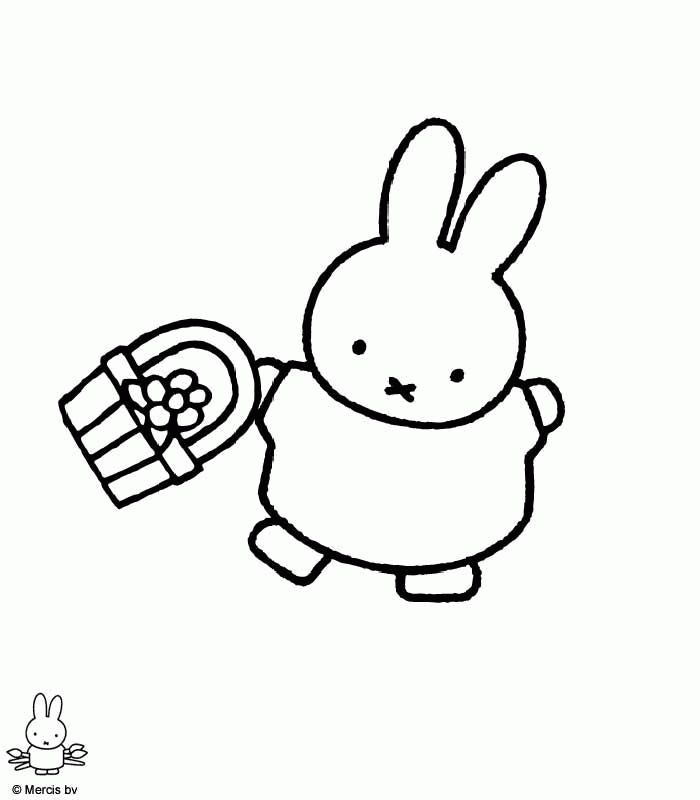 Miffy Coloring Pages | Printable Coloring Pages