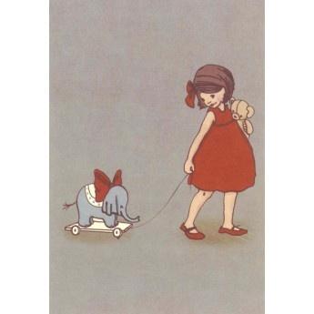 Belle & Boo 'Elephant' Card