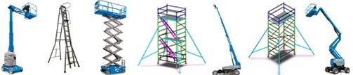 """We are leading manufacturers of <a href=""""http://sendhamarai.net/boom-lift.html"""">Articulated Boom Lift</a>. When a boom lift has a mast that can unhinge at the joint points to extend its reach it is called an articulating boom lift."""