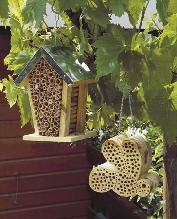 Cute Bee houses!