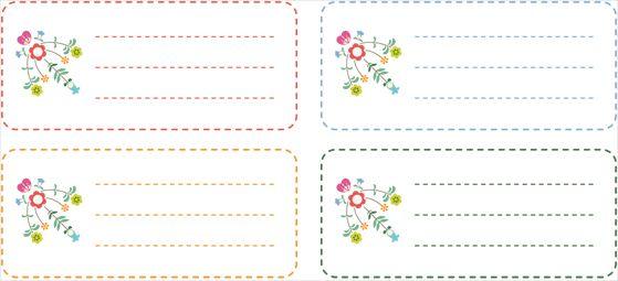 Etiquettes | Printables | Pinterest
