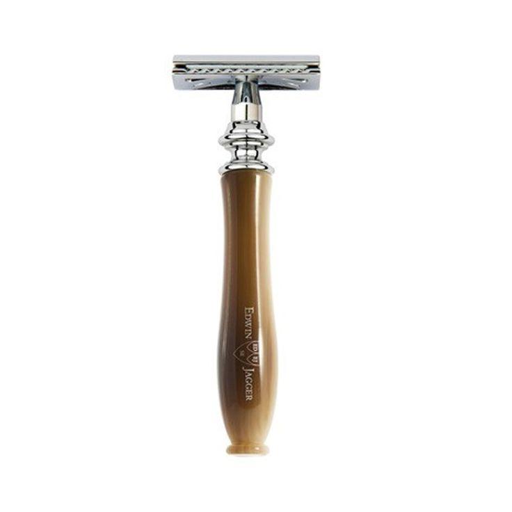 Aparat de barbierit clasic cu maner de lemn – Edwin Jagger