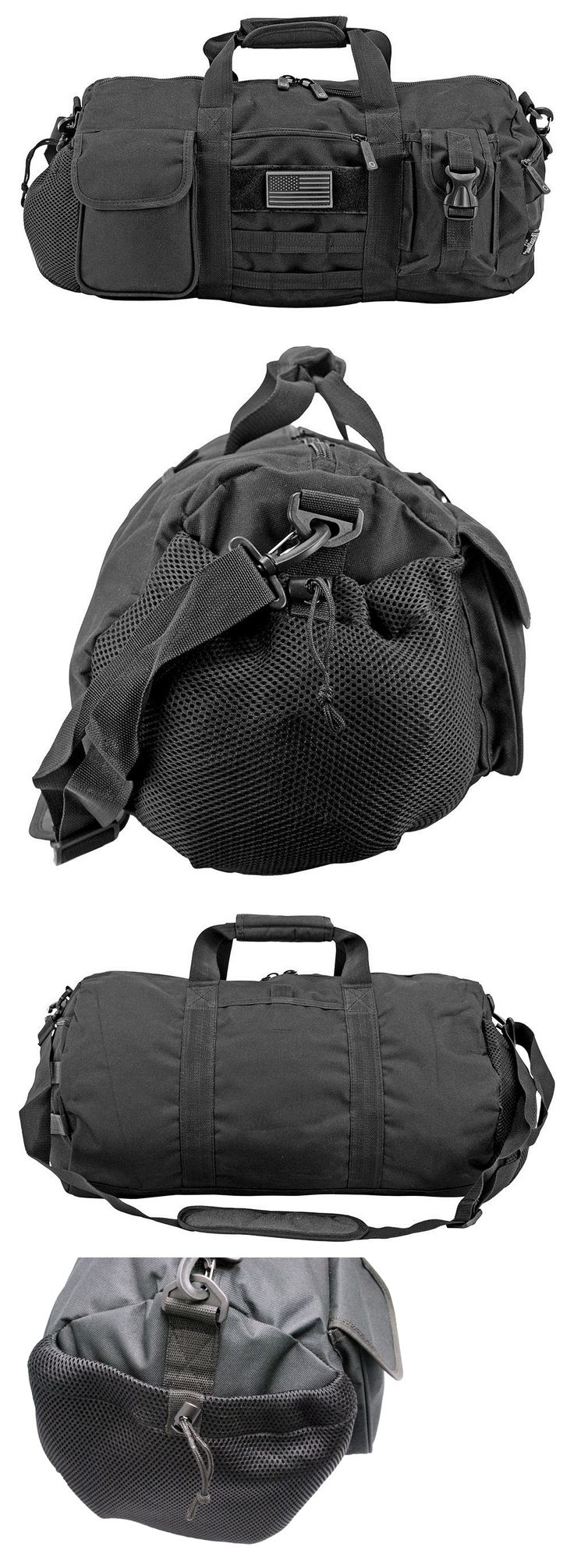 Hunting Bags and Packs 52503: 20 Tactical Duffle Bag - Black 20 X 11 X 11 -> BUY IT NOW ONLY: $31.45 on eBay!