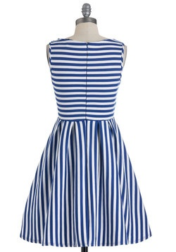 What's the Lineup? Dress in Cobalt, #ModCloth