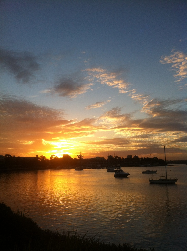 Another spectacular sunset in Sydney <3