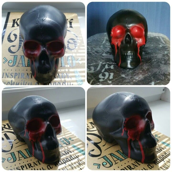 Woodoo - Skull without eyes