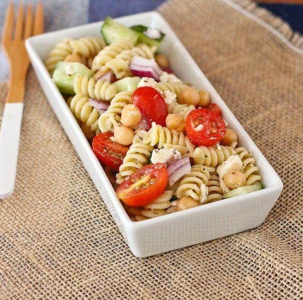 Pasta salat balsamico