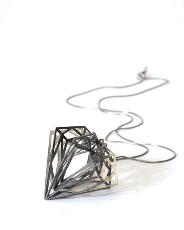 Classic Diamond Pendant by Myia Bonner http://shop.myiabonner.co.uk