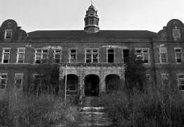 Willowbrook State School, Staten Island, NY -  I watched a documentary called Cropsey that was about Willowbrook and children that had gone missing in the area, it was quite sad.