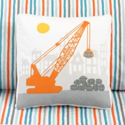 Crane throw pillow $24 from Land of Nod