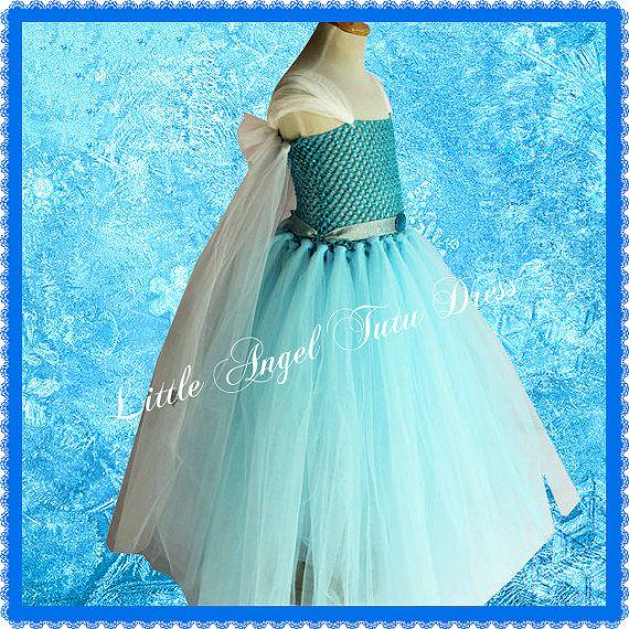 Disney inspiriert gefroren Elsa Tutu Kleid von LittleAngelTutuDress