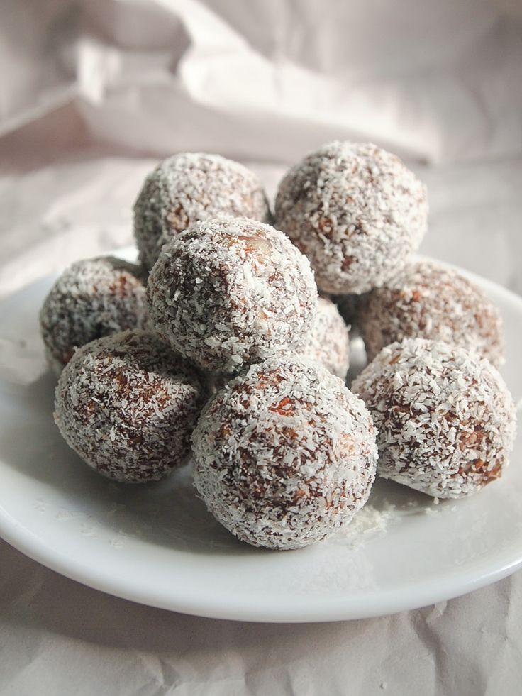 Raw Cacao truffles. They bring you back to rum balls at christmas.