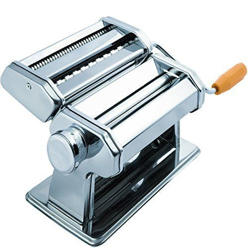 Beautiful OxGord Stainless Steel Fresh Pasta Maker Roller Machine for Spaghetti Noodle Fettuccine