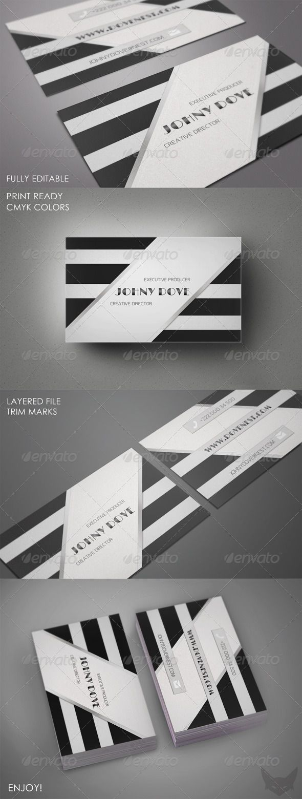 Elegant Business Card Template 86 best Print