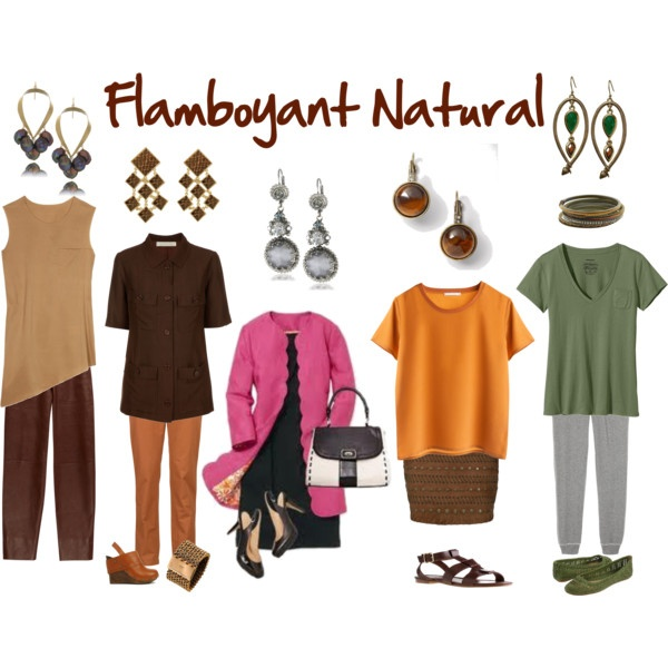 """""""Flamboyant Natural"""" by jeaninebyers on Polyvore"""