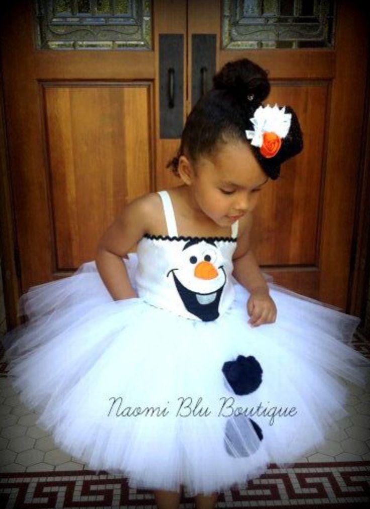 Frozen's Olaf Tutu-Frozen Party Ideas-Disney's Frozen Party-Frozen Costume