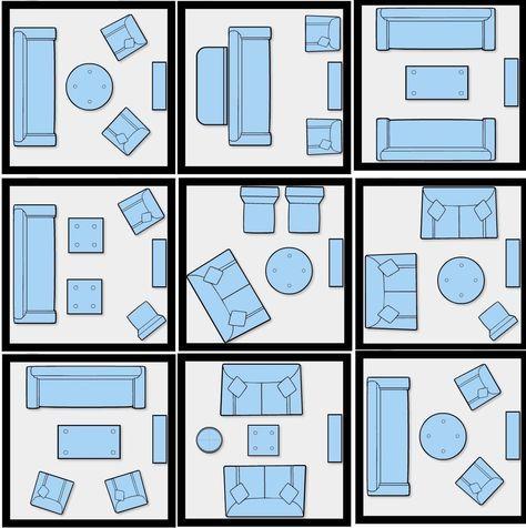 Imaginative Design concepts for little living-room