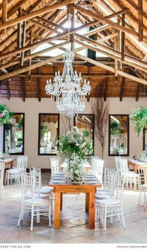Beautiful wedding decor! Wedding Venue: Oakfield Farm   Photographer: Christine Meintjes Photography   Make-up: Beauty & the brush   Make-up: Make-up by Dyllon   Hair: Gary Rom Hair   Wedding Dress: Bondesio Couture   Organisers: Zavion Kotze Events  