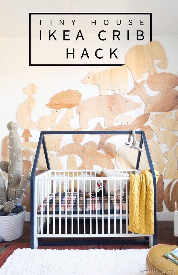 $20 Tiny House IKEA Crib Hack (Vintage Revivals)