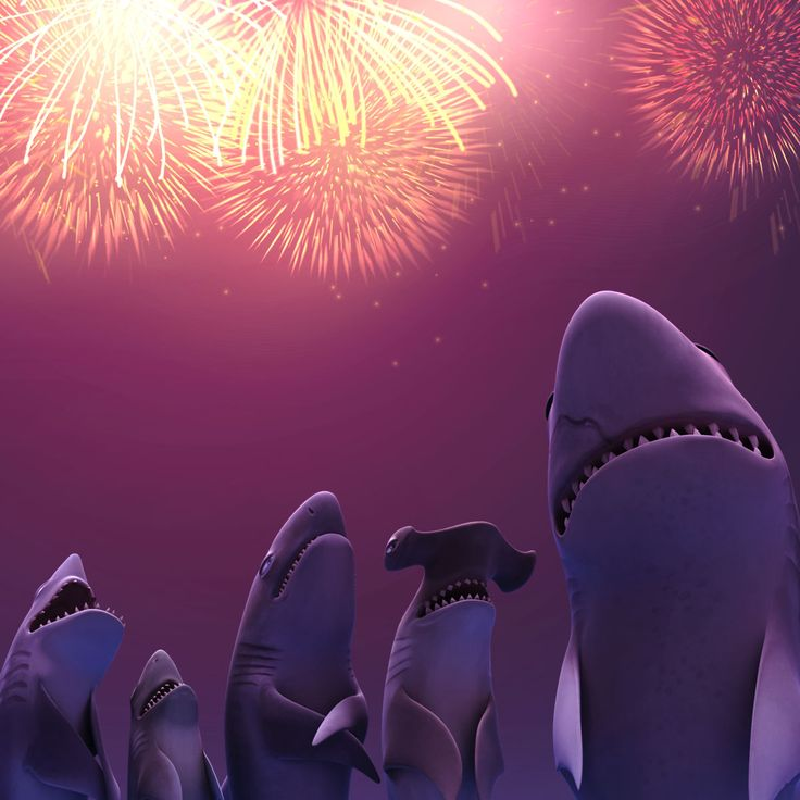 Happy New Year Hungry Sharkers!