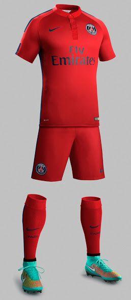 nike FC Barcelona Exterieur equipement de maillot de foot pas cher 2014-2015 rouge Qatar Airways
