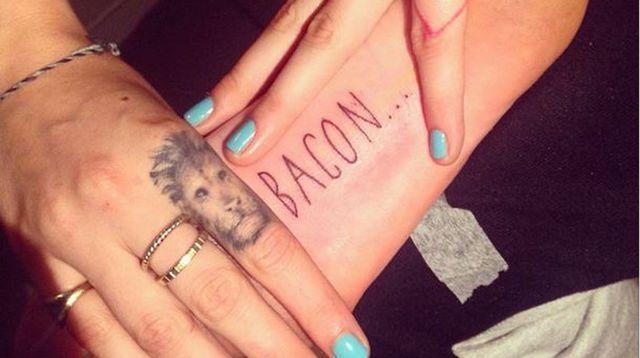 EN IMAGES. Les tatouages de Cara Delevingne