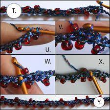 crochet jewelry tutorials - Google Search