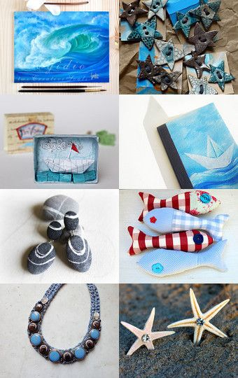 Under the sea by Chicca on Etsy--Pinned with TreasuryPin.com