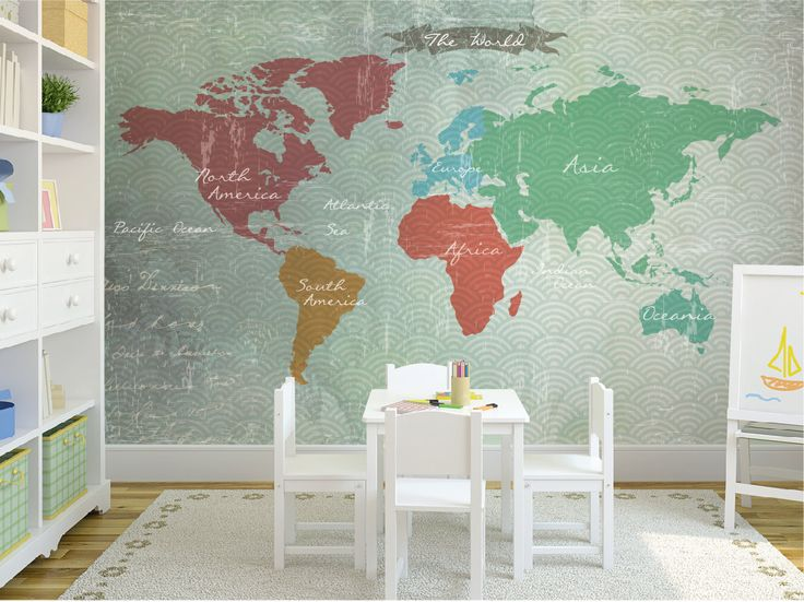 M s de 1000 ideas sobre mapa de dormitorio en pinterest - Cortina bano mapamundi ...