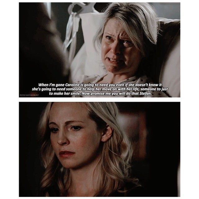 """#TVD 6x12 """"Prayer For the Dying"""" - Caroline heard what her mom said to Stefan."""