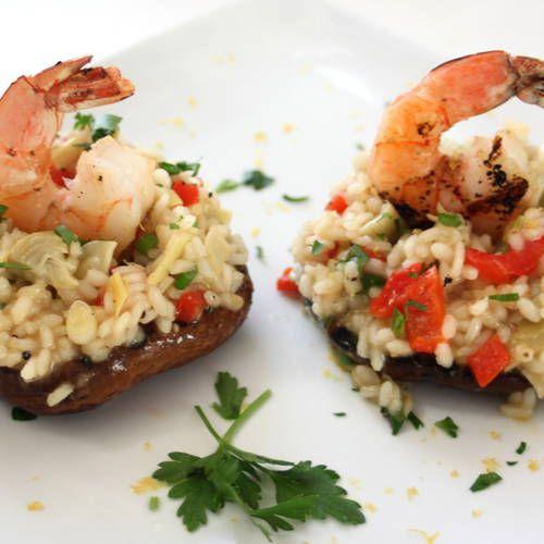 68 best recipe rehab better eats images on pinterest healthy shrimp and artichoke risotto stuffed mushrooms recipe rehab forumfinder Choice Image