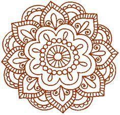 Image result for simple mandala design