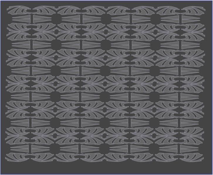 Project Otok Kornat - patroon antra/grijs Een patroon geïnspireerd op de Kornati Eilanden in Kroatie