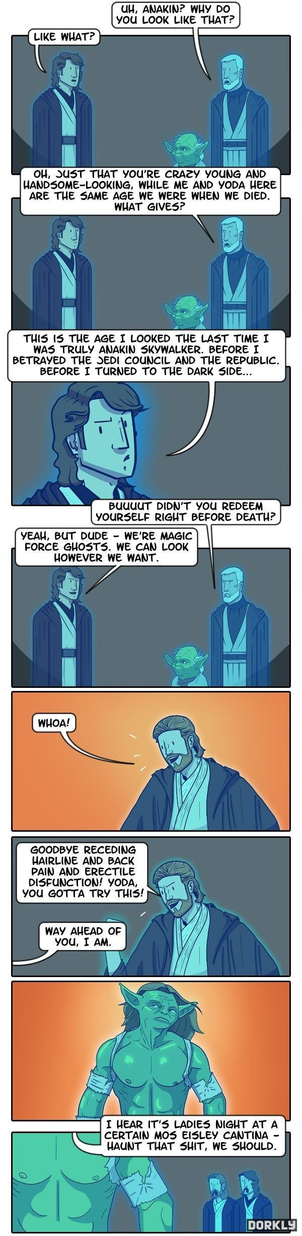 Changing Force Ghosts - The Jedi Temple - Star Wars Community & Funny Pictures - Powered by Pinnect