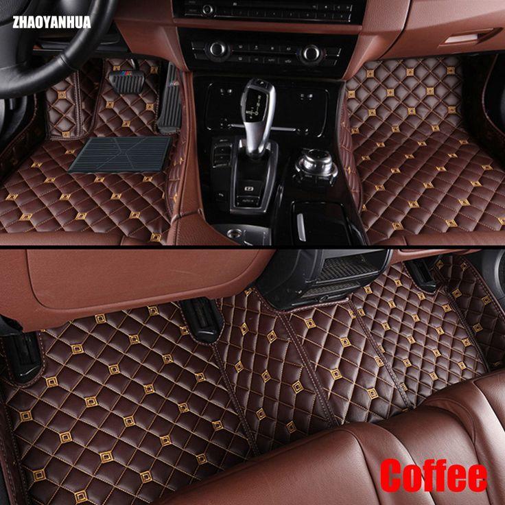 ZHAOYANHUA Car floor mats for BMW 7 series F01 F02 730i 740i 750i 760i 730d 740d 750d 730Li 740Li 750Li 760Li 6D carpet liners