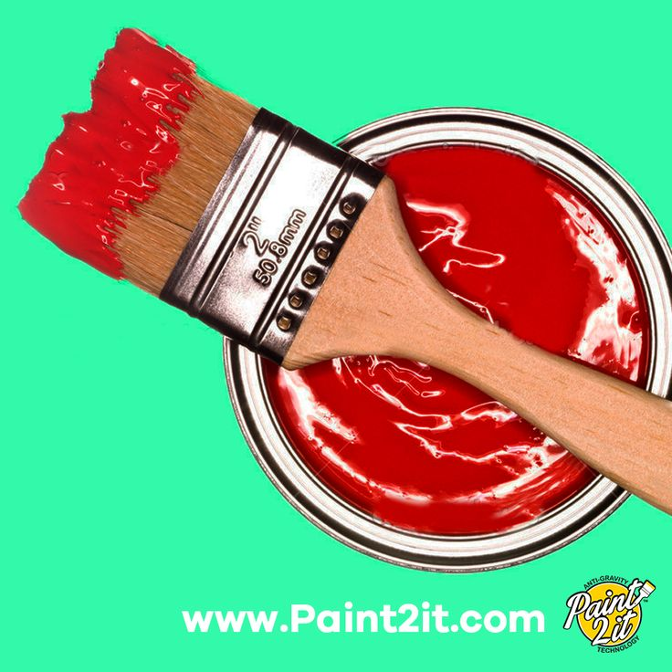 Only dip your brush about half or quarter of an inch into the paint, then wipe off one side. This will help you to avoid paint runs from using too much and it will keep your brush in good condition. #PaintingTips  Get your anti-gravity paint tray here => www.paint2it.com   #painting #paint #diy