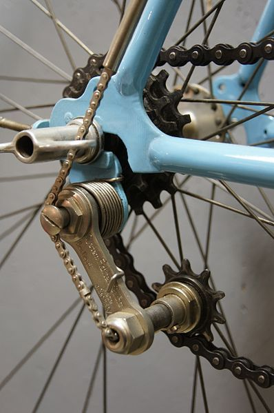 Diamant-Fahrrad-Hinterrad - I like the chain on the  derailleur