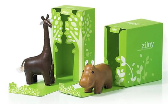 Leather-made animals boxes