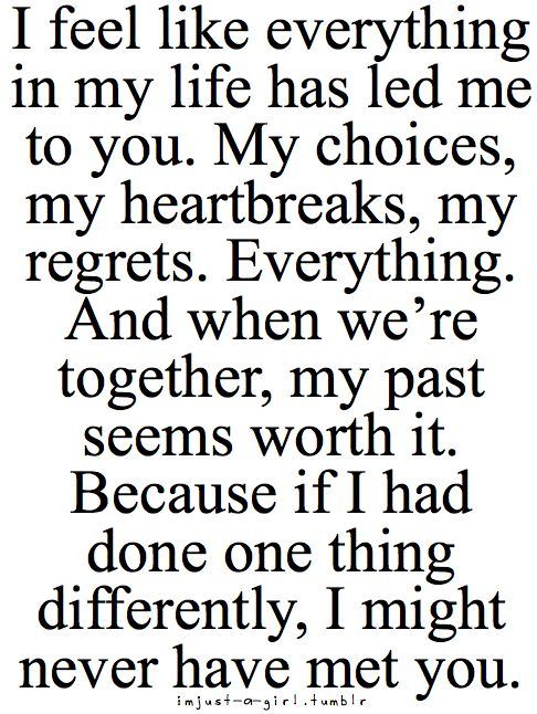 the most perfect thing i have ever read.we say this all the time!