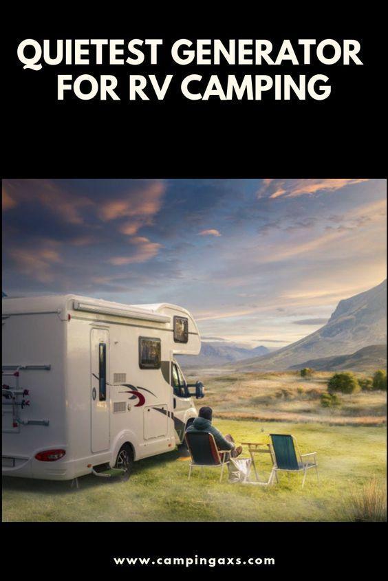 quietest generator for travel trailer
