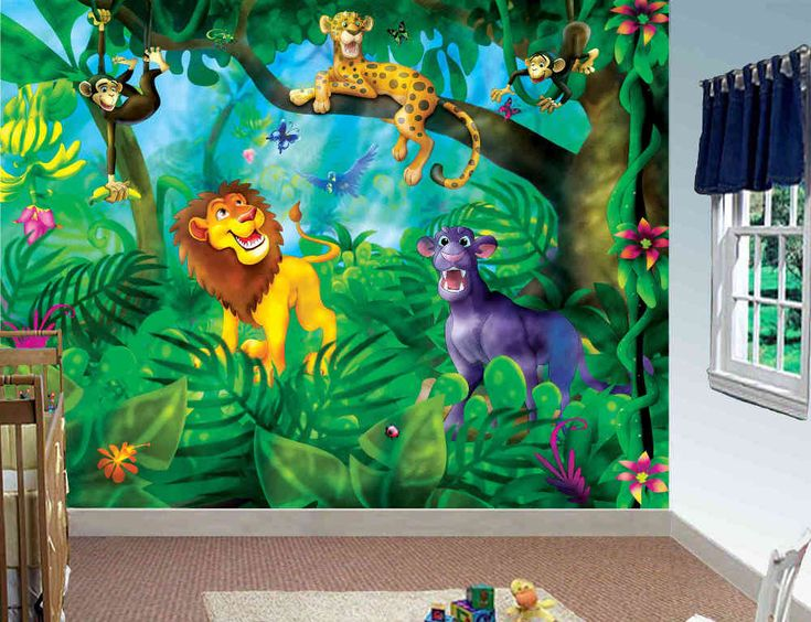 71 best images about wallpaper murals for babies room