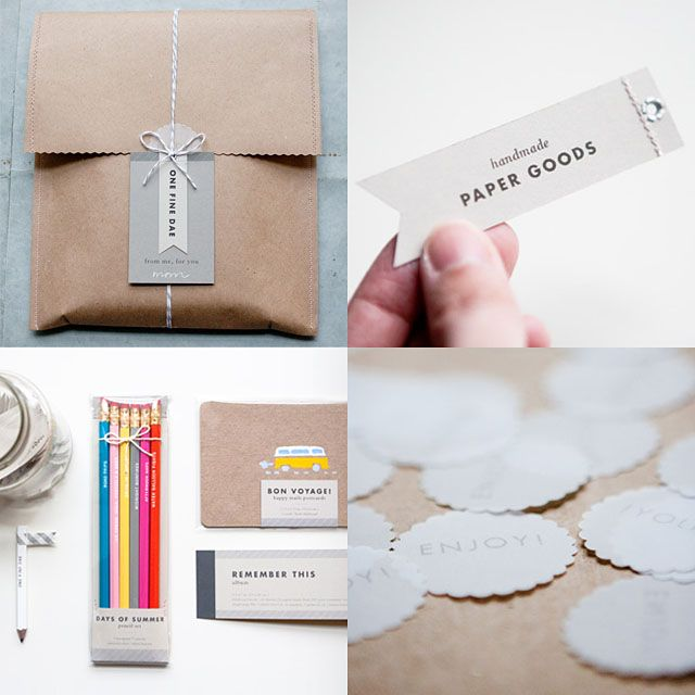 {inspiration} packaging by one fine dae