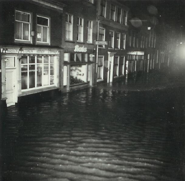 Scheveningen Storm 1953 Keizerstraat