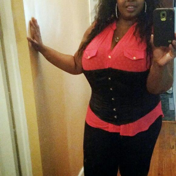 Waist Trainer corset Waist Trainer corset with string up tie back. Intimates & Sleepwear Shapewear