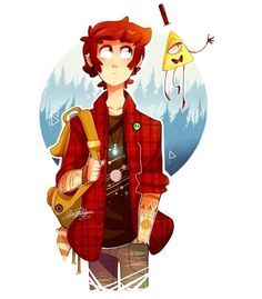 Dipper Pines & Bill Cipher
