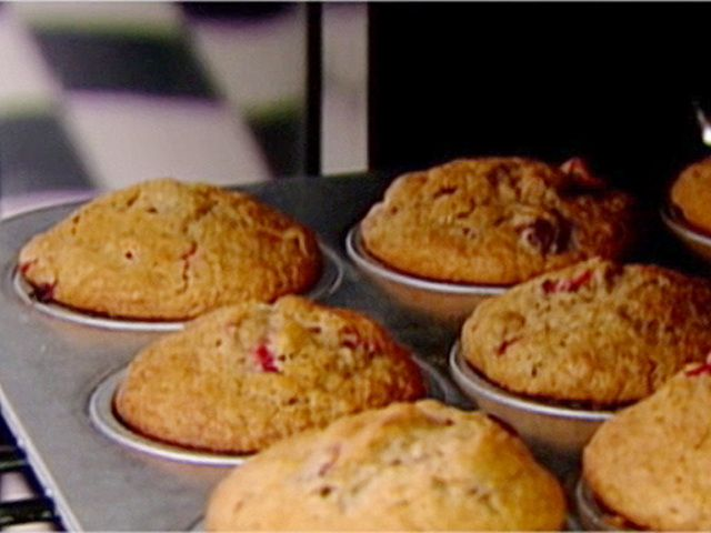 Cranberry Harvest Muffins Recipe : Ina Garten : Food Network