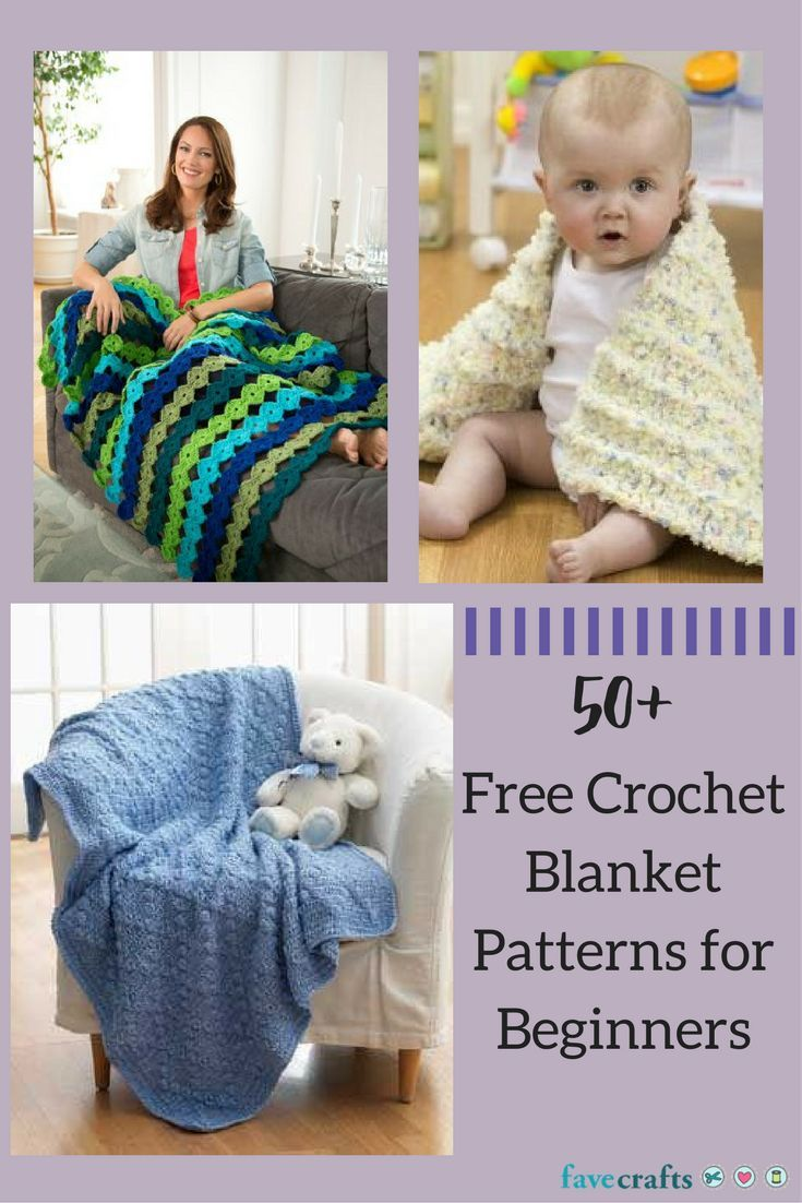 155 best knit sew crochet images on pinterest 51 free crochet blanket patterns for beginners bankloansurffo Image collections