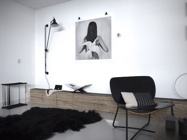 vosgesparis: A new update from my living | Lampe Gras N214 and a side board