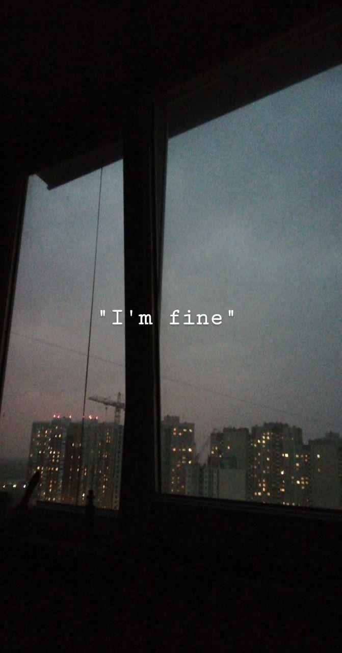 "Iphone Wallpaper – ""Я в порядке"""