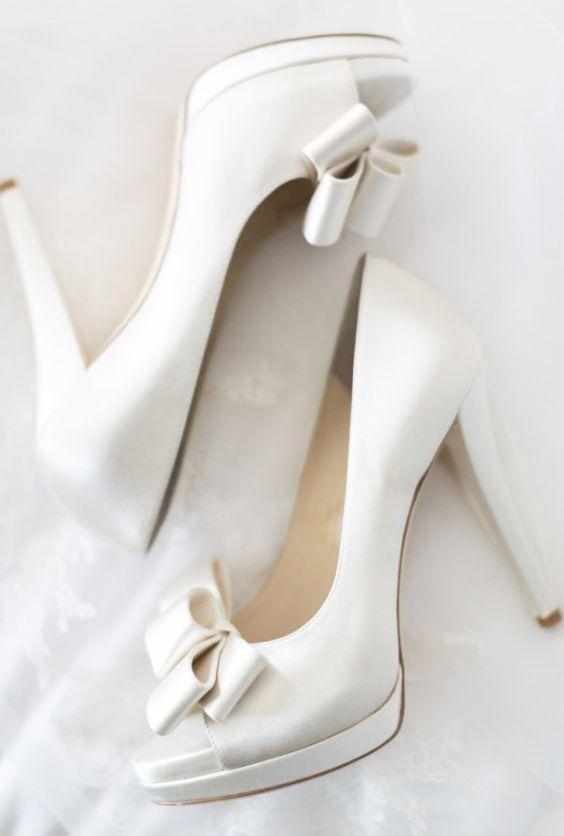 Wedding shoes idea; Featured Photographer: Koman Photography